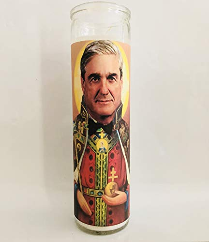 Saint Robert Mueller Prayer Candle - Celebrity Parody
