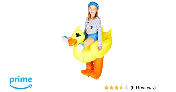 sc 1 st  Amazon.com & Amazon.com: Bodysocks Kids Inflatable Duck Fancy Dress Costume: Clothing