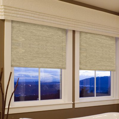 Coolaroo Interior Cordless Blackout Shade Blinds, 52 By 72 Inch, Oatmeal