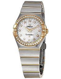 Omega Women's 123.25.27.60.55.002 Constellation Diamond Bezel Watch