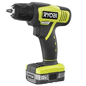 Factory-Reconditioned Ryobi ZRHJP001K 12V Cordless Lithium-ion Compact Drill Kit