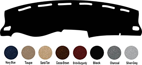 2007 - 2014 GMC Yukon / Chevy Tahoe - All Models Dash Cover Dashboard Cover Mat Dash Pad - Premium Custom Carpet (Black)