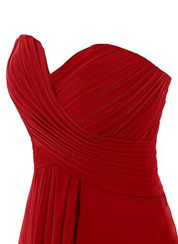À Long Empire Sans Bretelles De Femmes Anlin Taille Demoiselle D'honneur Robe Maxi Robe De Soirée An269 De Prune