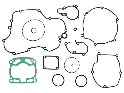 Outlaw Racing OR3711 Complete Full Engine Gasket Set Kawasaki KX125 2003-2005 Outlaw Racing Products