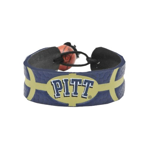 NCAA Pittsburgh Panthers Team Color Basketball Bracelet