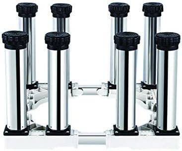 【Tamaño Ajustable】: Base del soporte del refrigerador: Largo y Ancho: de 40 - 65 cm. Altura: 29-32cm