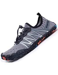 a206ef7cadb5 Mens Womens Water Sport Shoes Barefoot Quick-Dry Aqua Socks for Beach Swim  Surf Yoga