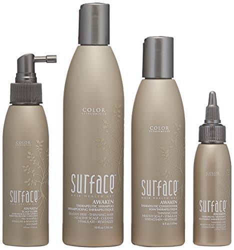 Surface Hair Awaken Advanced Therapeutic Treatment System, Thinning Hair Box Set