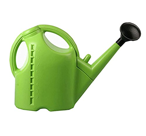 AIFUSI Watering Can Plastic Plant Spray Kettle Garden Accessory Sprayers 10L Large Green Sprinkle Pot for Plants Outdoor Gardens by AIFUSI