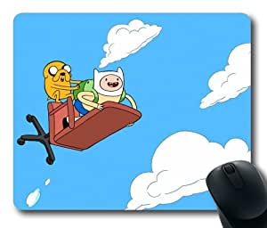Finn and jake adventure time rectangle mouse pad by icasepersonalized