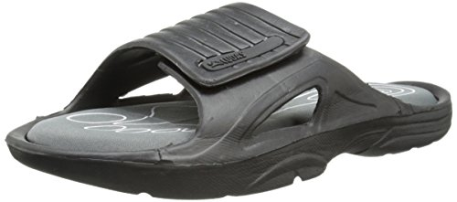 Cudas Mens Shem Jelly Sandal Nero