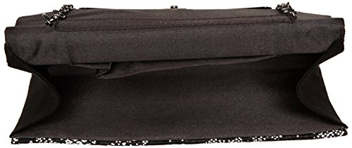 Lotus Damen Epona Tasche, Black (Black/White Textile), One Size