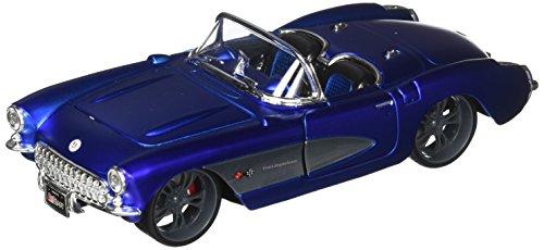 Maisto 1:24 W/B All Stars 1957 Chevrolet Corvette