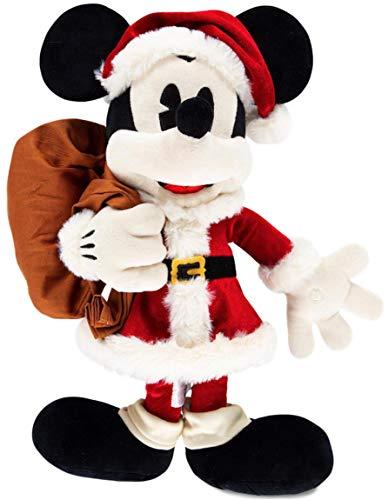 Disney Parks Mickey Mouse as Santa Claus Plush - 18