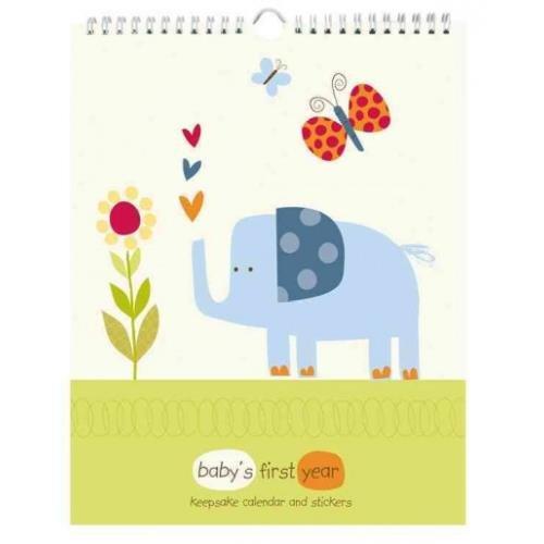 Babys Jungle First (Pepper Pot Baby's First Year Keepsake Calendar, Jungle Friends Boys)