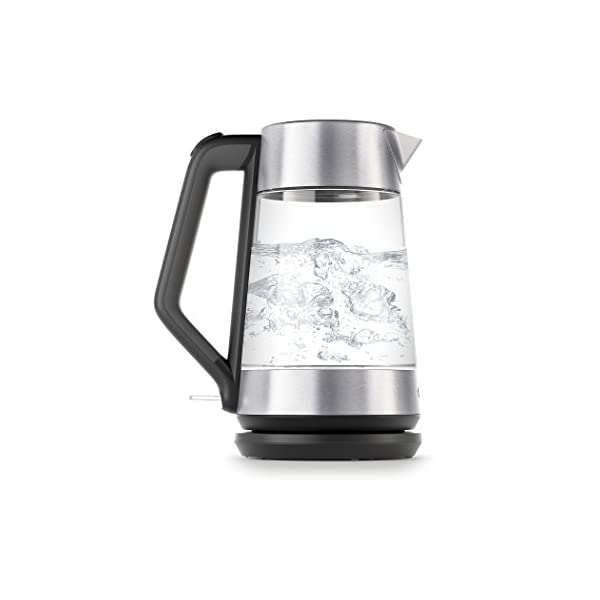 OXO 8710300 Cordless Glass Electric Kettle, 175 L, Clear 1