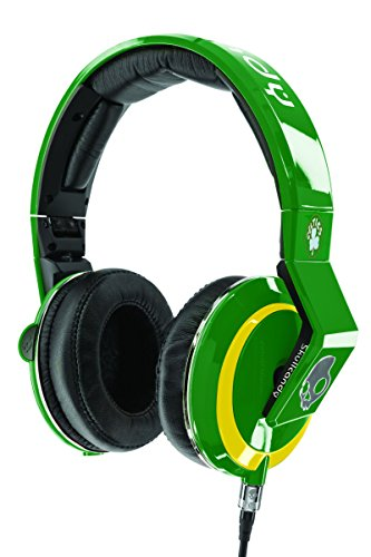 Skullcandy Mix Master Headphones with DJ Capabilities and 3 Button Mic, NBA Boston Celtics