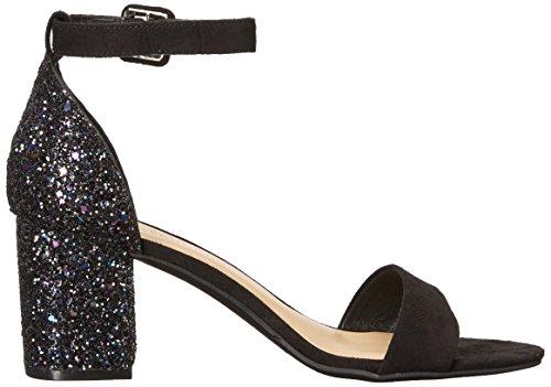 Cl By Chinese Laundry Mujeres Jody Block Heel Dress Sandal Black / Multi Glitter