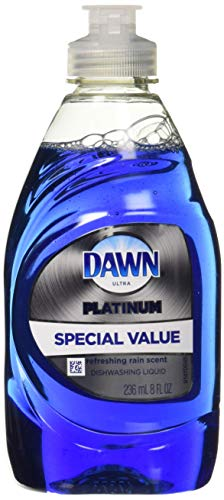 Dawn Ultra Platinum Dishwashing Soap 8 Oz Trial Size, Refreshing Rain Scent