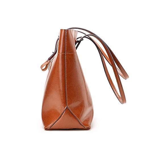 Weiche Leder Damen Schultertasche Laptoptasche Laptoptasche Laptoptasche Handtasche Pendler Tasche Aktentasche B07PWZY7F4 Schultertaschen Zart c623bf