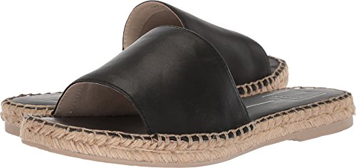 Dolce Vita Women's Bobbi Slide Sandal, Black Leather, 6.5 M US
