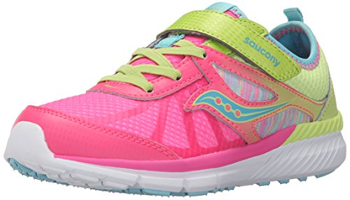 Saucony Volt Alternative Closure Sneaker (Little Kid), Mutli, 13.5 W US Little Kid by Saucony