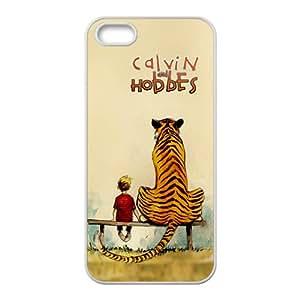 Calvin Hobbes White iPhone 5S case
