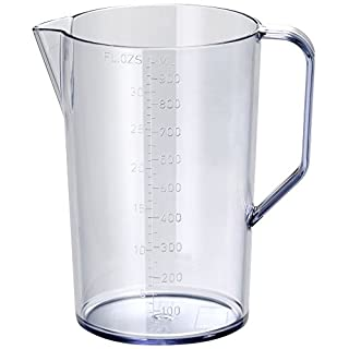 Bamix 1000ml Graduated BPA-Free Blending Pitcher with Handle Jug – Practical and Durable Container – Perfect Accessory to Immersion Blenders – Freezer, Microwave, and Dishwasher Safe