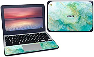 product image for Winter Marble Protector Skin Sticker Compatible with Asus Chromebook C202S - Ultra Thin Protective Vinyl Decal Wrap Cover
