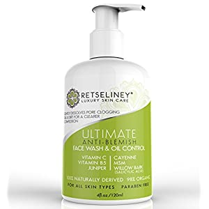 Retseliney Acne Face Wash & Oil Control, Acne Treatment for Face width=