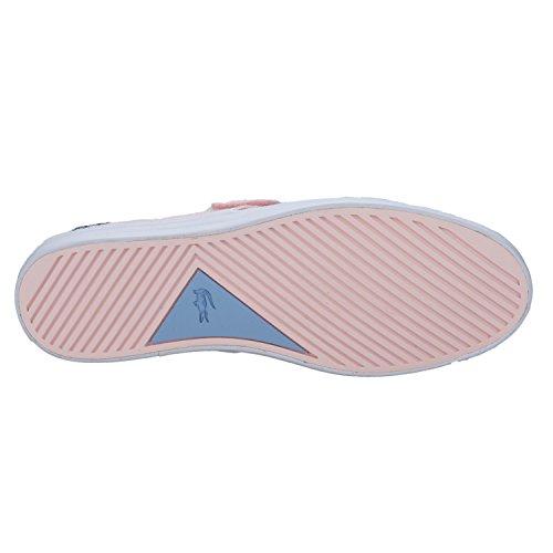 Lacoste - Zapatillas de Tela para niña rosa rosa