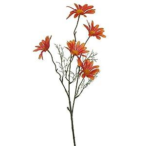 Lily Garden Set of 12 Artificial Cosmos (Orange) 104