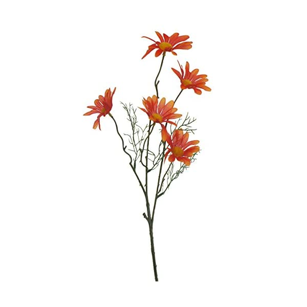Lily Garden Set of 12 Artificial Cosmos (Orange)