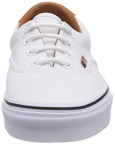Furgoni Era 59 Sneakers Misto-adulto Bianco ((cl Lavato) Tr Fq8)