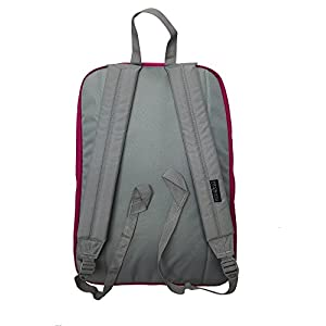 "JanSport Womens Digital Carry Mainstream Digibreak Backpack - Cyber Pink / 16.7""H X 13""W X 8.5""D"