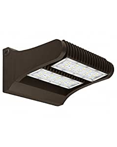 Westgate Lighting Rotatable LED Wall Packs 360 Degrees -Outdoor Lights For Parking, Overhead Entrance, Yard - Waterproof IP65-UL Listed-High Lumen 120-277V-7 Year Warranty (80 Watt, 5000K Cool White)
