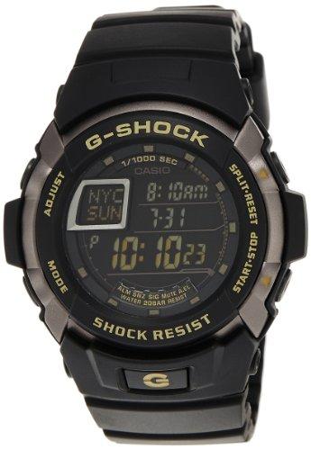 Casio Men's G7710-1 G-Shock Trainer Shock Resistant Multi-Function Watch ()