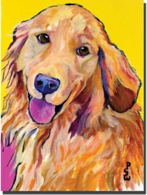 Molly by Pat Saunders-White, 18x24-Inch Canvas Wall Art
