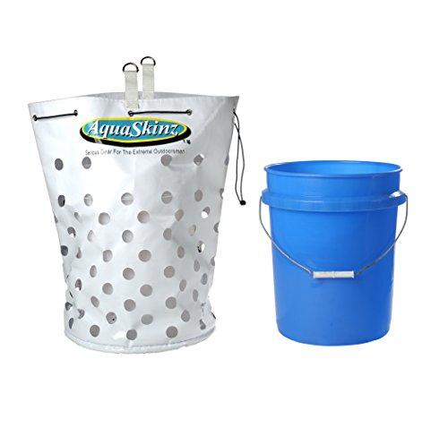 AquaSkinz Offshore Chum Fishing Bait Bucket Bag