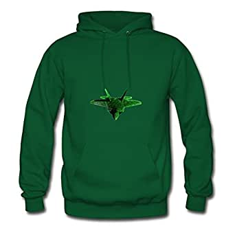 Cotton Different F22 Raptor Jungle Camo 3d A Women Personalized X-large Sweatshirts Green