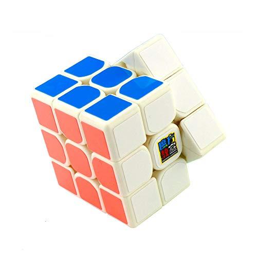 [해외]FalconShop moyu mofang jiaoshi mf3rs2 cube magic 매직 큐브 3x3x3 프라모델 아 루빅스 큐브 경기 용 지적 장난감 (화이트) / FalconShop moyu mofang jiaoshi mf3rs2 cube magic rubik cube 3x3x3 plastic model kids rubik cube competition int...
