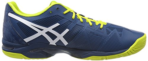 Solution Spring Gris Tennis Speed Bleu Chaussures Bluewhitesulphur 4501 de Gel Homme 3 Asics Ink 4q5wRCH
