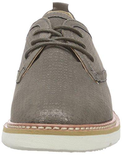 XTI 45861 - Zapatos de cordones derby Mujer Grau (Plomo)