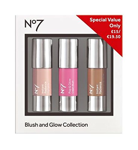 No7の赤面とグローコレクション (No7) (x2) - No7 Blush and Glow Collection (Pack of 2) [並行輸入品]   B01N3SJLWN