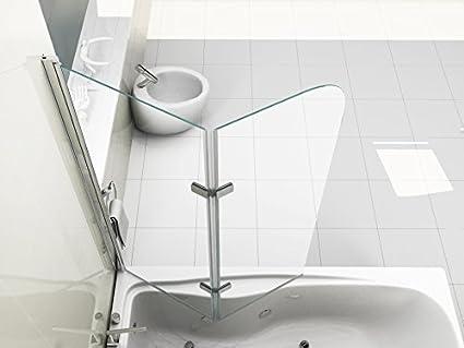 Tappo Della Vasca Da Bagno In Inglese : Hnnhome pannello vasca da bagno doccia singolo in vetro mm