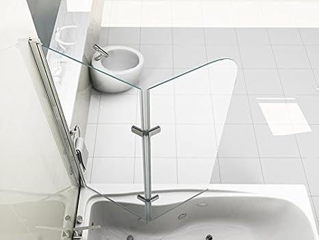 Tappo Vasca Da Bagno In Inglese : Hnnhome pannello vasca da bagno doccia singolo in vetro mm