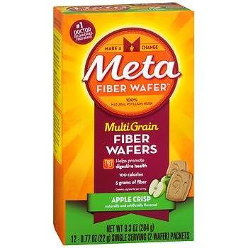Amazon.com: Metamucil Apple Crisp Flavored Fiber Thins