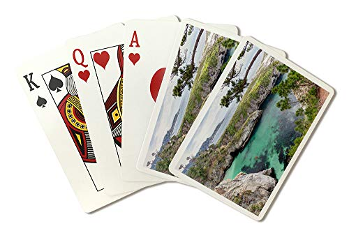 Carmel, California - Point Lobos State Natural Reserve - Photography A-93141 (Playing Card Deck - 52 Card Poker Size with Jokers)