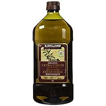 Kirkland Signature Organic Extra Virgin Olive Oil, 2 Kilogram