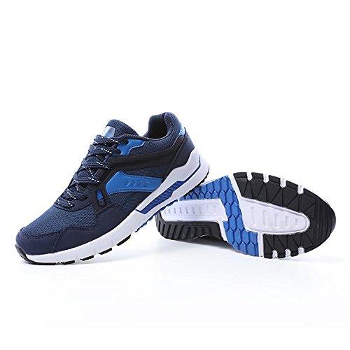 40 Autunno sportive EU traspirante donna uomo Color alto tacco con Blu donna e 2018 Jiuyue Estate Scarpe shoes da per ginnastica da scuro Dimensione 0qEKpBxg